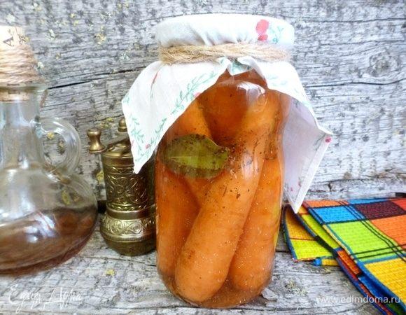 Маринованная морковь по-итальянски
