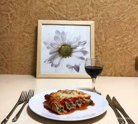 Каннеллони с рикоттой и шпинатом