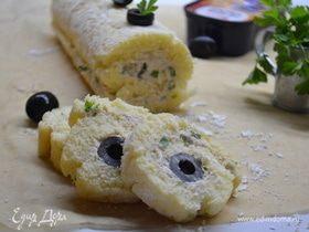 Рулет закусочный «Морское дно»