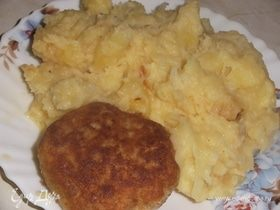 Картофель, томленный в казане