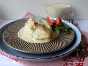 Куриная грудка с розмарином и сырным соусом