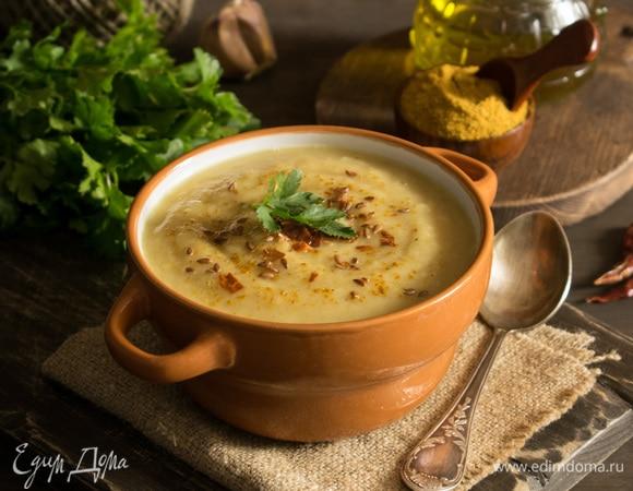 Суп карри из цветной капусты