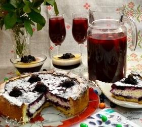 Жимолость в десертах