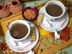 Горячий шоколад с медом