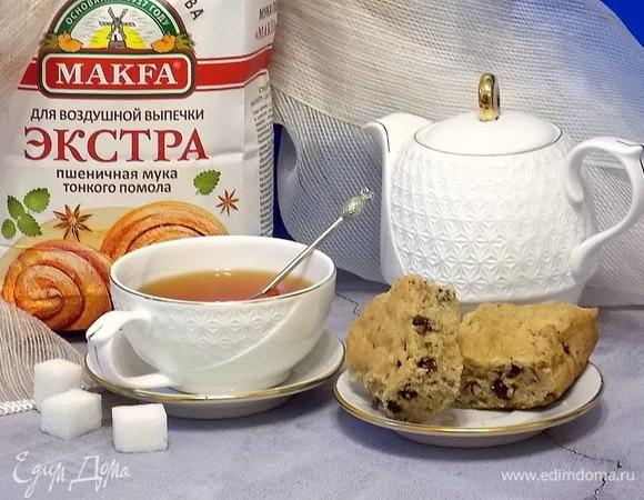 Пирог с арахисовой пастой, орехами и шоколадными каплями