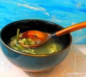 Немецкий суп на пиве с горохом