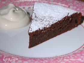Шоколадный пирог с кофейным кремом