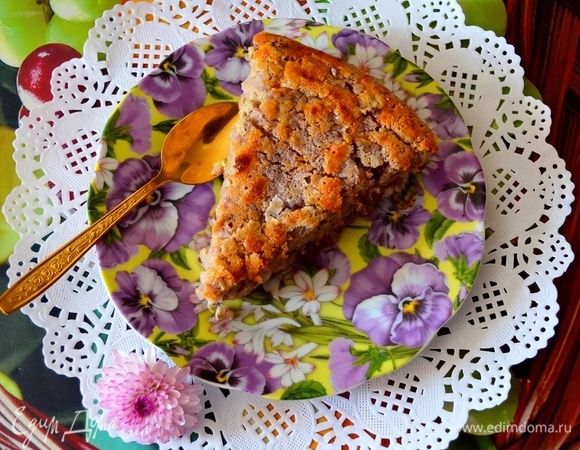 Лимонный итальянский пирог