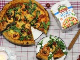 Пицца ассорти с солодом