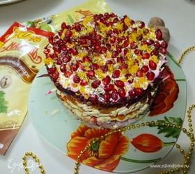 Фруктово-овощной салат «Фантазия»