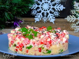 Салат «Веселый Санта»