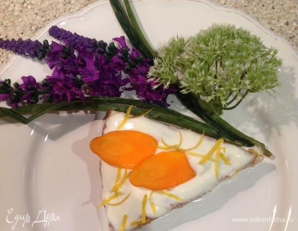 Морковно-банановый пирог