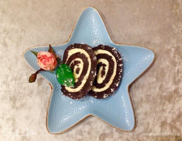 Шоколадный рулет «Аврора»