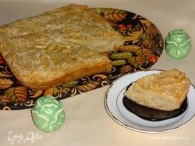 Греческий пирог с рисом и картофелем