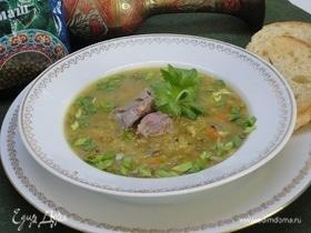 Суп из маша с восточными нотками