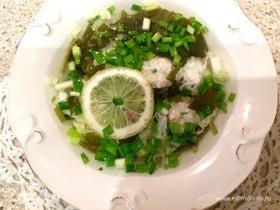 Щавелевый суп с фрикадельками