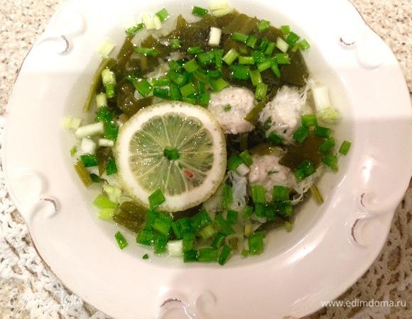 Щавелевый суп с фрикадельками - рецепт пошаговый с фото