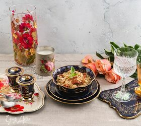 Перлотто с грибами и вялеными помидорами