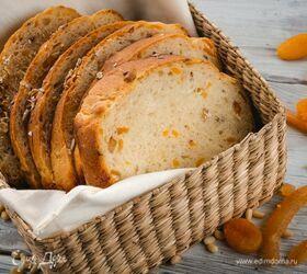 Диетический хлеб с сухофруктами и орехами