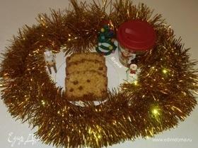 Кекс на Рождество (почти штоллен)