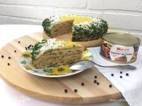 Блинный торт «Наслаждение»
