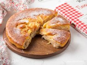 Нежный яблочный пирог