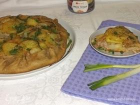 Галета с картофелем и тунцом