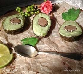 Десерт из авокадо «Лилу»