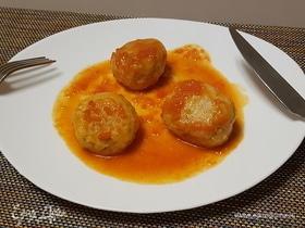 Рыбные тефтельки в томатном соусе
