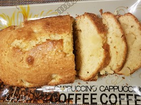 Кокосово-анансовый кекс