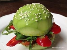 Бургер из авокадо