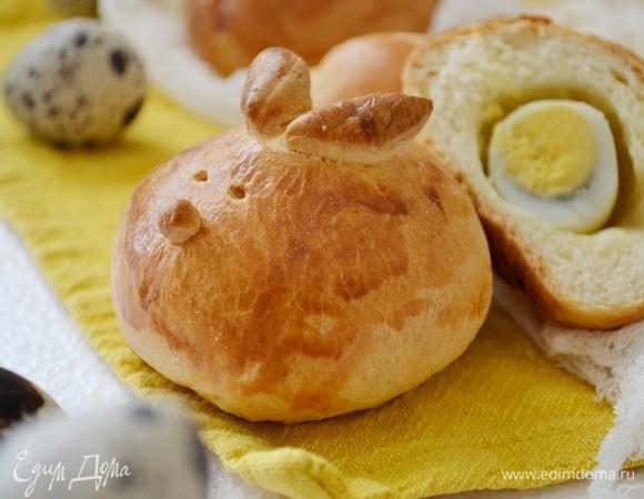 Пасхальные пирожки с перепелиными яйцами
