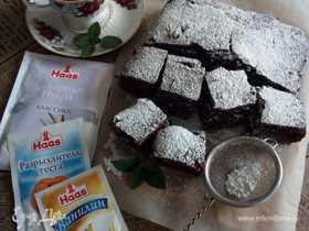 Шоколадный пирог с цукатами