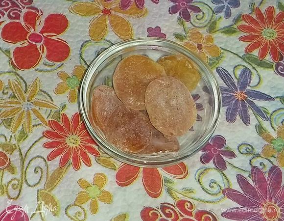 Карамельки из апельсина со специями