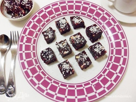 Свекольный мармелад с орехами и черносливом