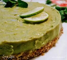 Торт с авокадо «Мохито»