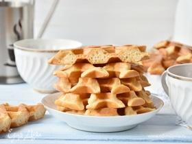 Мягкие вафли без сахара