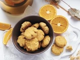 Апельсиновое печенье без сахара