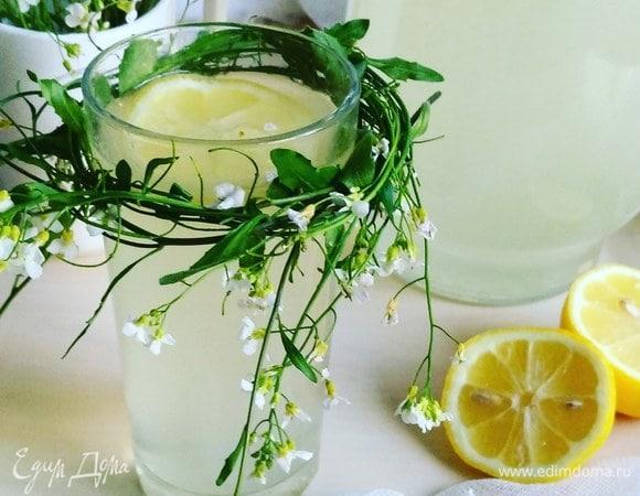 Лимонад лимонный с мятой