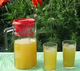 Апельсиново-имбирный напиток