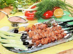 Свиной шашлык в пикантном соусе