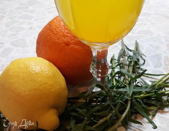 Лимонад из эстрагона и цитрусов