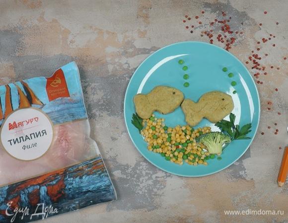 Паровые рыбные котлеты с морковью
