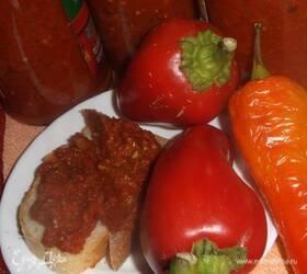 Икра овощная из перца и баклажанов