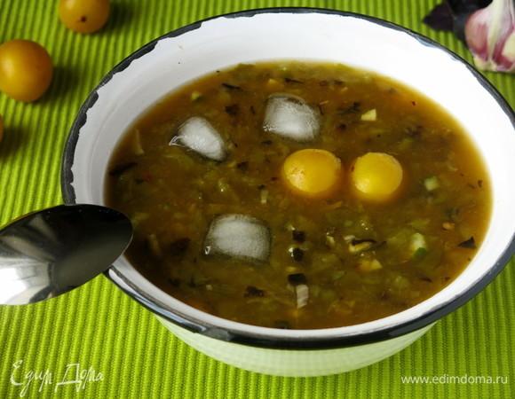 Суп с алычой