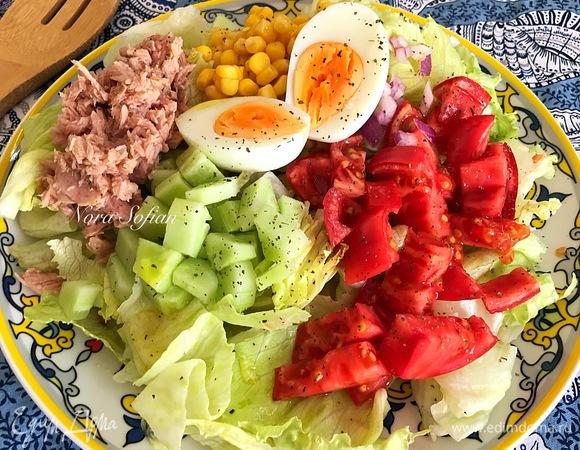 Испанский салат (Ensalada mixta)