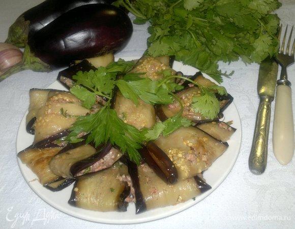 Закусочные баклажаны по-абхазски