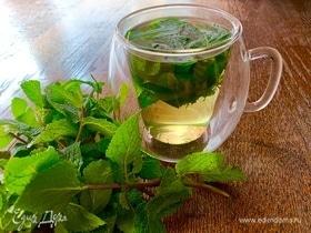 Мятный чай с барбариской