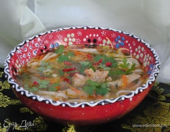 Дунганский суп «Кесме»