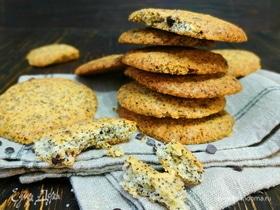 Печенье с маком и шоколадом
